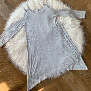 Pastel Blue Long Sleeve Top